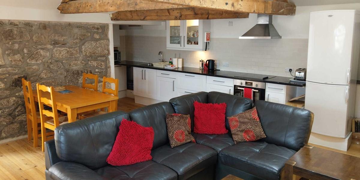 Sunny Corner Living Area