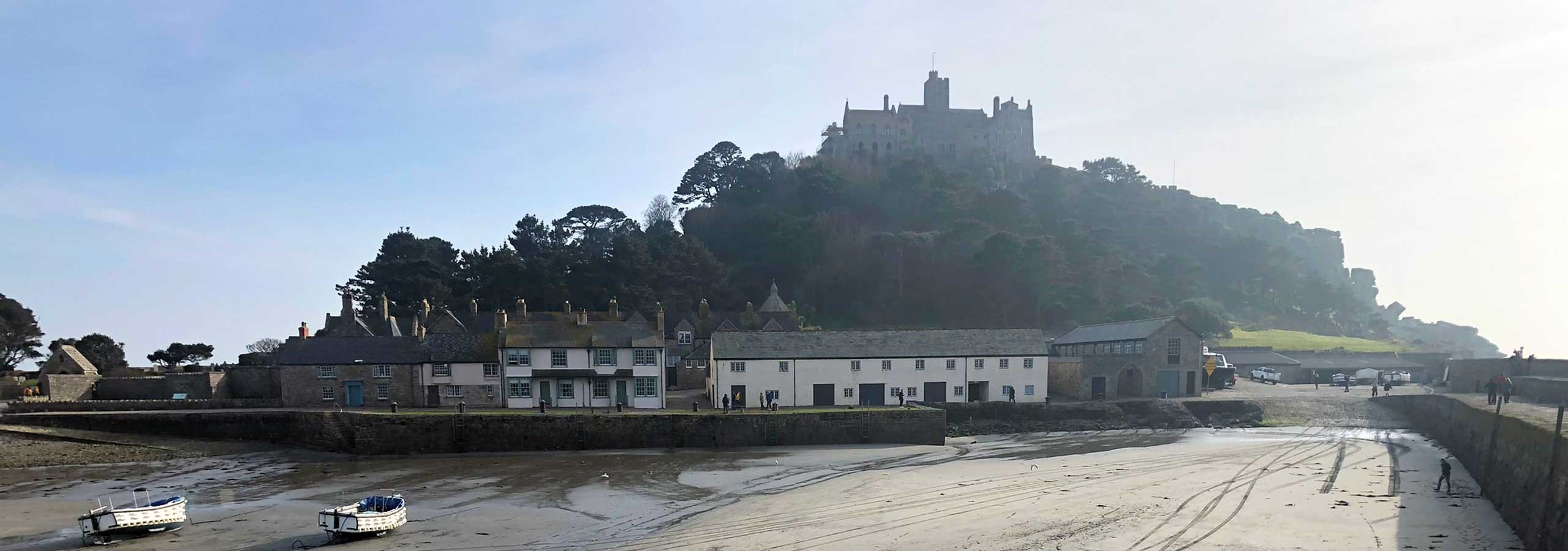 St Michaels Mount Beach
