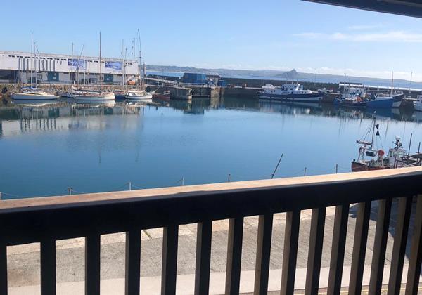 Sail Loft Balcony View Harbour