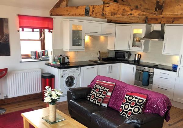 Sail Loft Lounge Kitchen