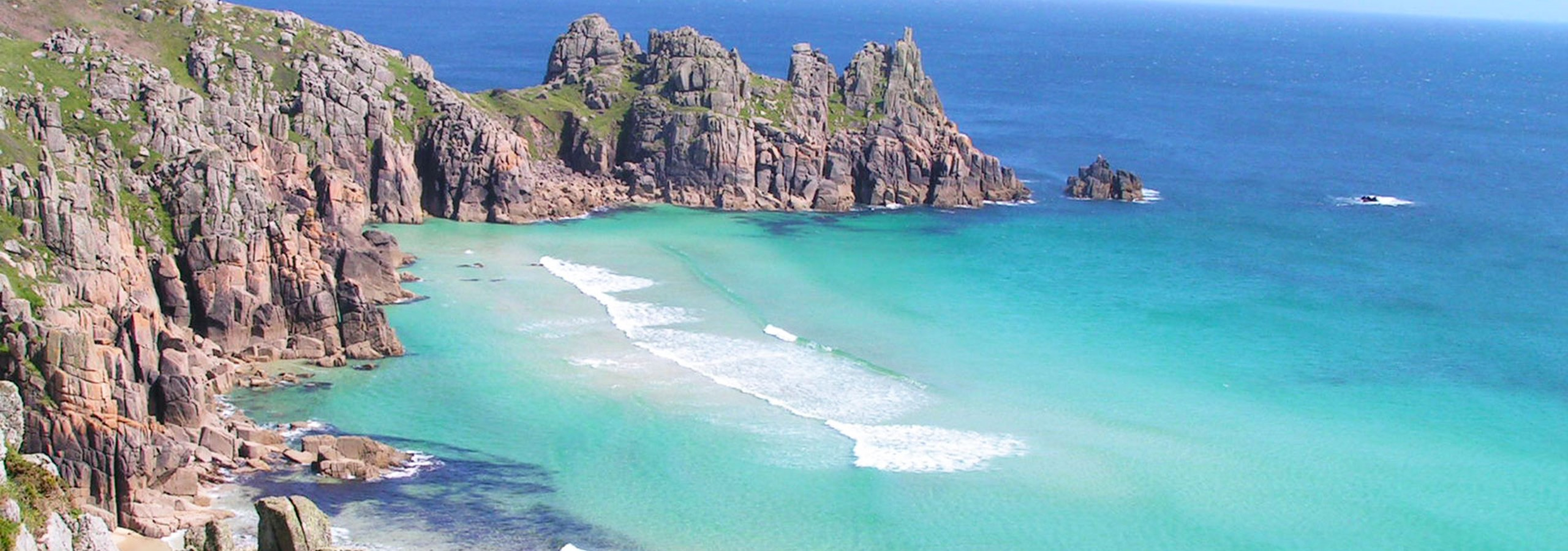 Logans Rock Porthcurno Cornwall