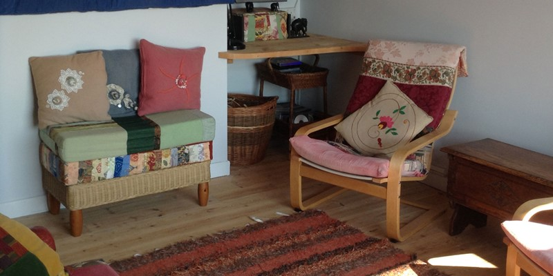 Ocean View Living Room Seats