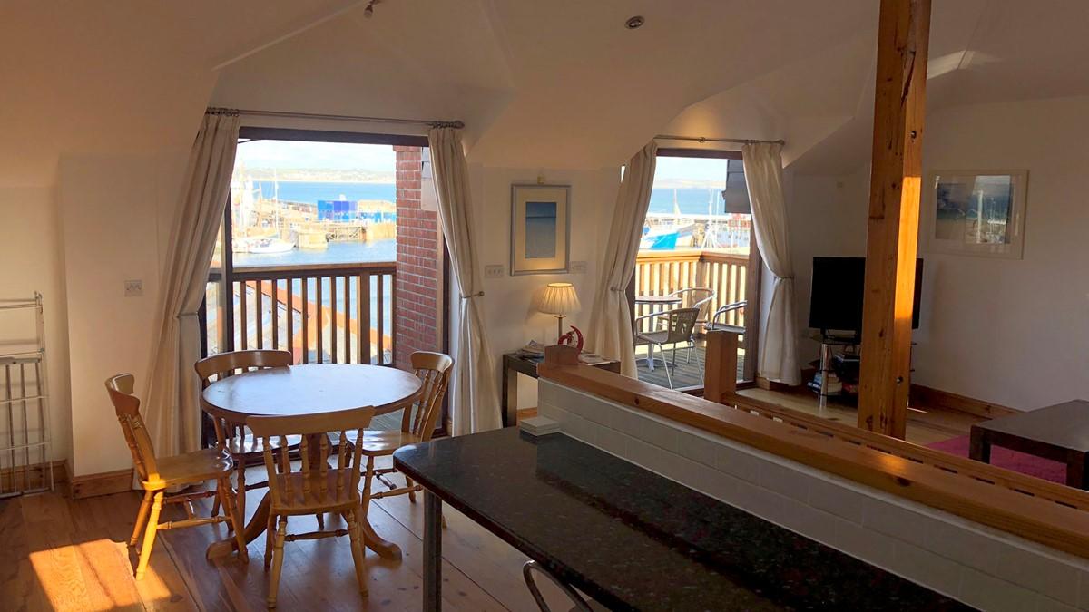 Penthouse 3 Kitchen Living Area