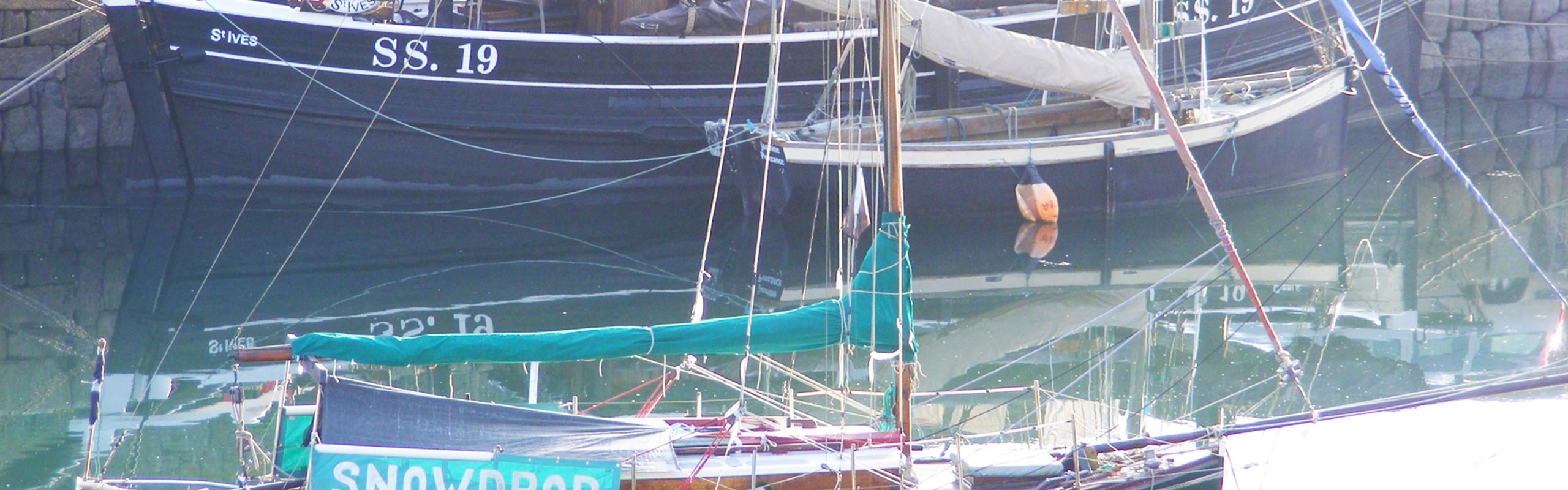 Classic Boats Newlyn Cornwall