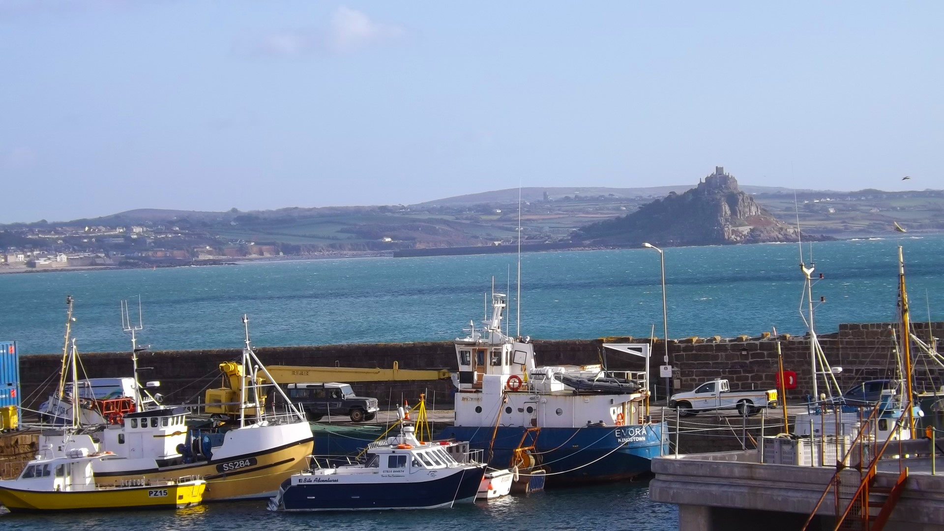 Penzance Mounts Bay Cornwall