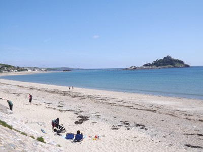 Beach At Marazion